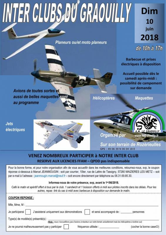 Legraouilly inter club 2018